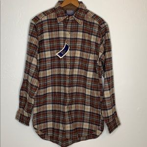 NWT Pendleton thinner wool button down